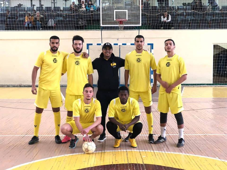 Inter-university mini-football tournament among foreign students and listeners