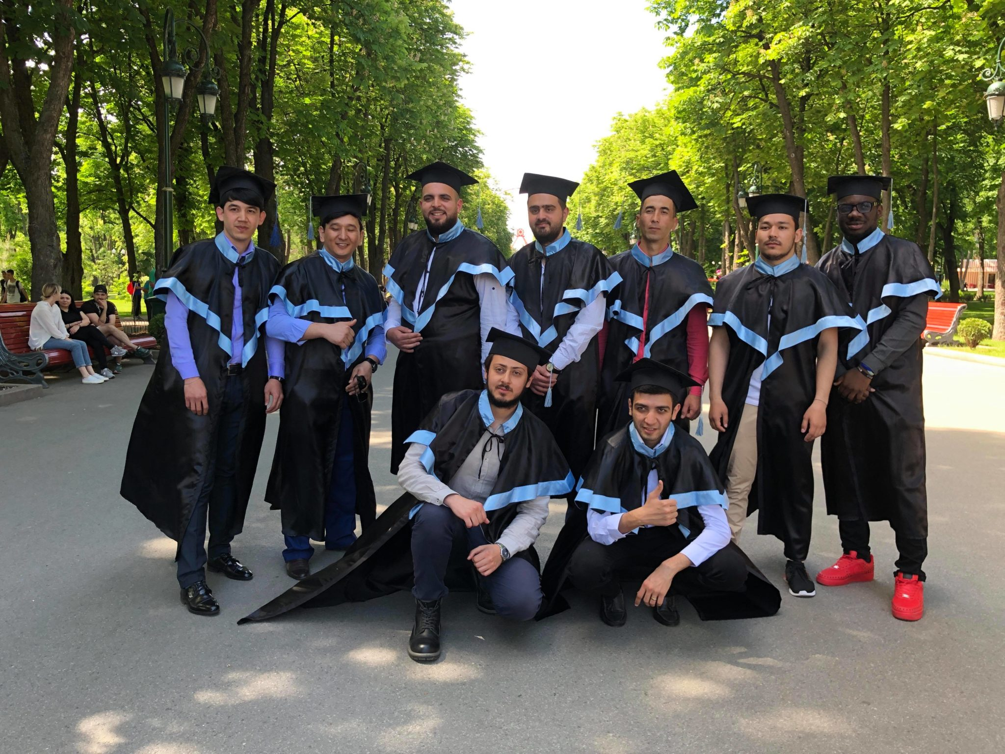 Foreign students of KNURE received a bachelor's degree